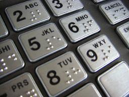 ATM-keypad